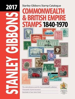 2017 Stanley Gibbons Commonwealth & British Empire Stamps Catalogue Part 1