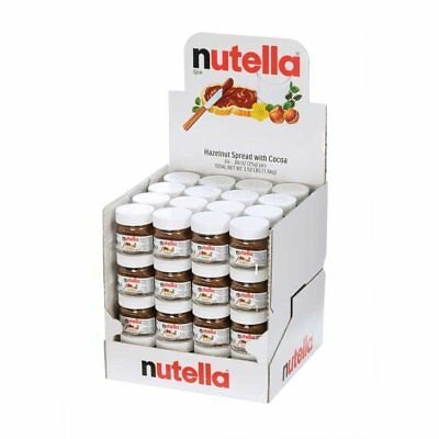 Nutella Hazelnut Spread with Cocoa 64 Real Glass Jar Perfect for Travel