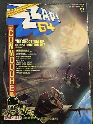 Zzap 64 Issue No.30 October 1987