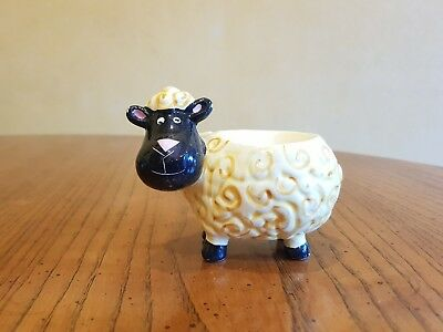 Lovely Vintage Ceramic Dolly the Sheep Egg Cup