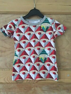 Baby Boys Christmas T-shirt By Next To Fit 18-24 Month