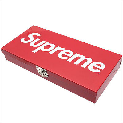 Supreme Box Large Metal Storage Box