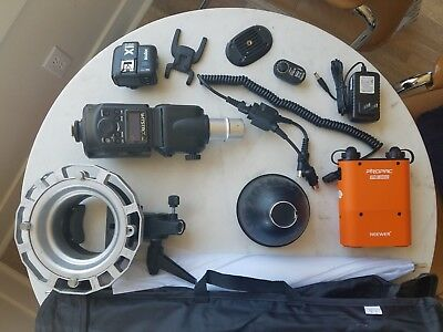 Godox Witstro AD360 Flash + PB960 Power Battery Pack Trigger promaster Softboxes