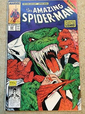 Amazing Spider-Man #313 *McFarlane Cover. The Lizard App.* *Inferno Tie-In* VF+