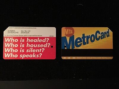 Barbara Kruger NYC Metrocard MTA Subway Limited! Who Is? NEW Sold Out Everywhere