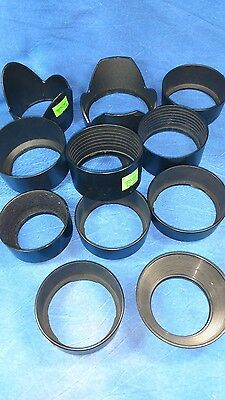 12 plastic lens Shades Minolta Tamron and others