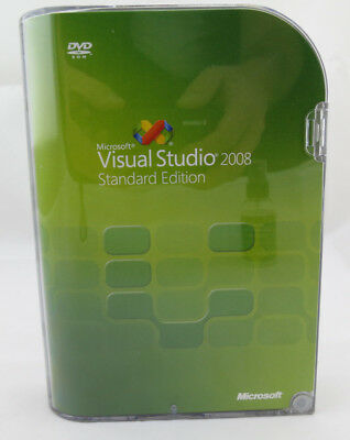 Microsoft Visual Studio 2008 Standard Edition Deutsch DVD Vollversion