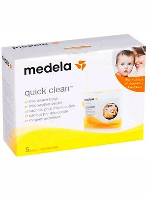 Medela Quick Clean Micro-Steam Sterilisation Bags