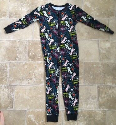 George Boys Age 8-9 Years Onsie Pyjamas