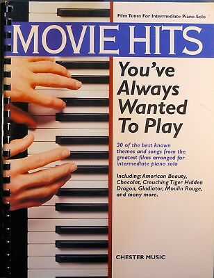 Movie Hits You've always wanted to play für Klavier Chester Music