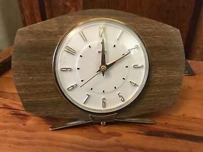 Rare Vintage Retro Funky 60's Metamec Mantle Clock
