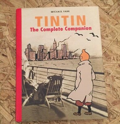 Tintin The Complete Companion The Complete Gui by Michael Farr Hardback Book New