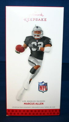 Hallmark Ornaments 2013 Marcus Allen----Los Angeles Raiders---Nfl