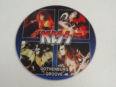 """KISS Live In Sweden 45 7"""" Picture Disc Limited Edition RARE"""