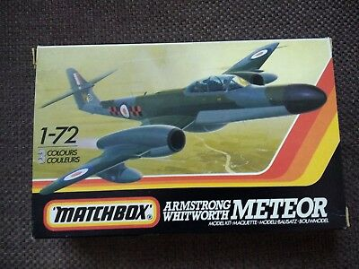 MATCHBOX Armstrong Whitworth Meteor NF.14/11/12 1:72 ohne Decal