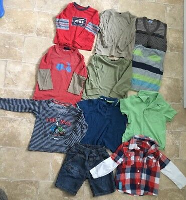 Boys Age 2-3 Years Large Clothing Bundle Next Mini Boden Marks And Spencer