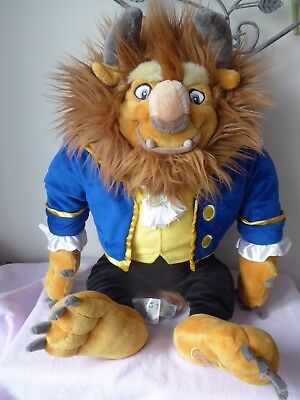 """Disney Beast From Beauty And The Beast Batb 21"""" Plush Soft Toy"""