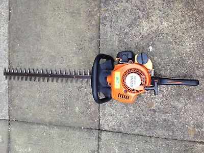 """Stihl HS45 Petrol 24"""" Double Sided Blade Hedge Cutter Trimmer Excellent Con"""