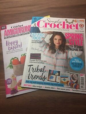 Simply Crochet Magazine - Issue 55 with free Amigurumi Book