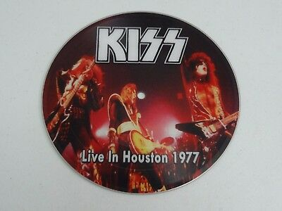 """KISS Live In Houston 1977 45 7"""" Picture Disc Limited Edition RARE"""