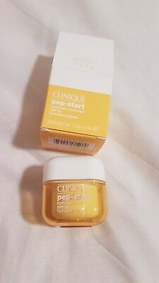 NEW Clinique pep-start Hydrorush Moisturiser SPF 20 15ml Express Moisturizer