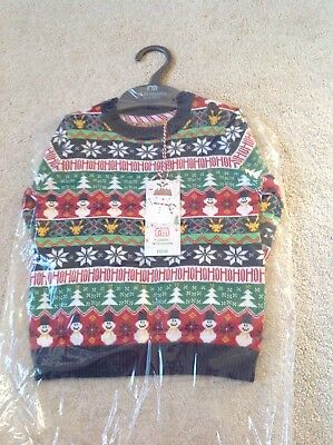 BNWT Mothercare Christmas Jumpers 18-24 Months
