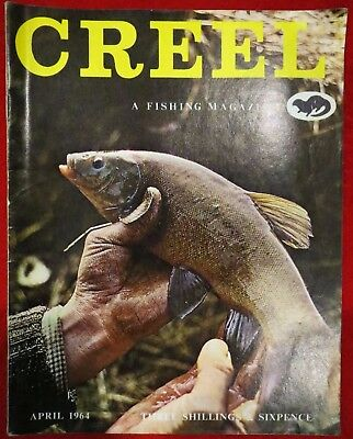 "Creel ""Fishing Magazine"" April 1964 Vintage Collectable Fishing Magazine."