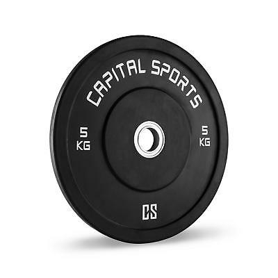 CAPITAL SPORTS Inval Competition Bumper Plates DISCOS DE PESAS 5KG WEIGHT DROPS