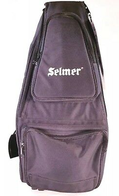 Selmer Nylon Soprano And Alto Sax Double Gig Wheelie Bag BRAND NEW