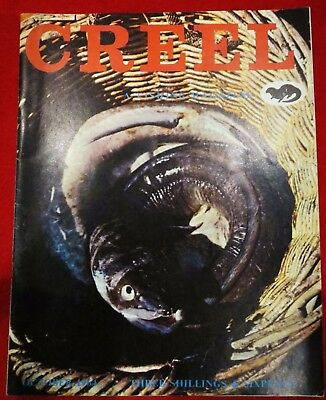 "Creel ""Fishing Magazine"" October1964 Vintage Collectable Fishing Magazine."