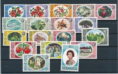 [G84380] Dominica good set Very Fine MNH stamps