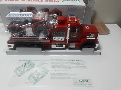 Look! Hess 2015 Fire Truck And Ladder Rescue Toy Truck !$39.99