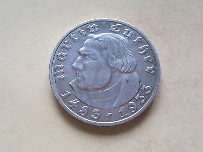 5 Reichsmark 1933 Luther A    (4)