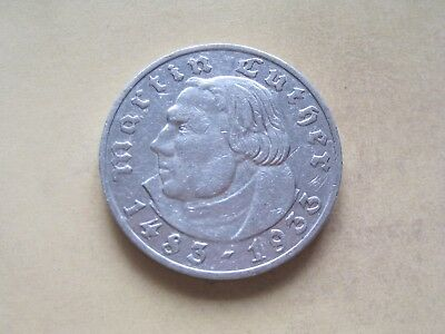 5 Reichsmark 1933 Luther E    (6)