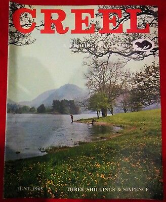 "Creel ""Fishing Magazine"" June 1965 Vintage Collectable Fishing Magazine."