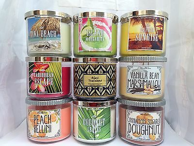 Bath and Body Works 411g 3 Wick Scented Candle, Candles up to 45hr burn time