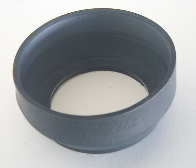 Zenza Bronica GS 100mm Rubber Lens Hood Genuine Bronica