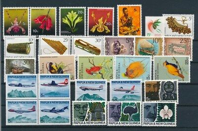 [G85131] Papua & New Guinea good lot Very Fine MNH stamps