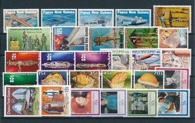 [G85138] Papua New Guinea good lot Very Fine MNH stamps