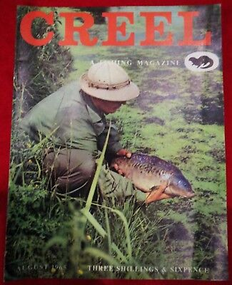 "Creel ""Fishing Magazine"" August 1965 Vintage Collectable Fishing Magazine."