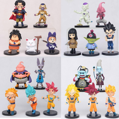 20pcs Dragon Ball Z Super Son Goku Frieza Action Figure toys collection