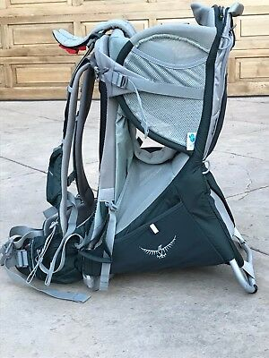 Osprey Poco Plus Child Carrier with Sun Shade / Canopy and Carrying Case