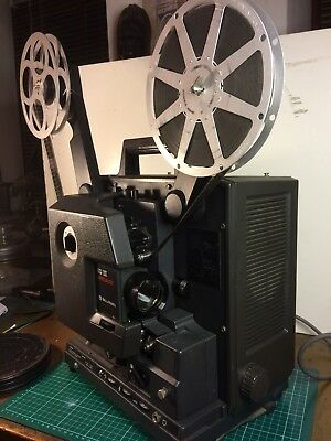 Super 16mm Film projector In Good Lens In Excellent Condition: Magnaflex Mk3