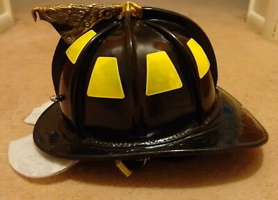 Cairns N6A Houston Leather Fire Helmet, Large.