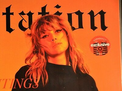 New Taylor Swift Reputation Exclusive 2lp Orange Colored