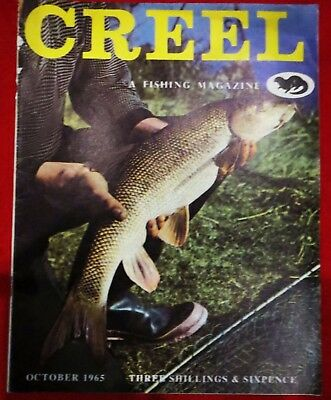 "Creel ""Fishing Magazine"" October1965 Vintage Collectable Fishing Magazine."