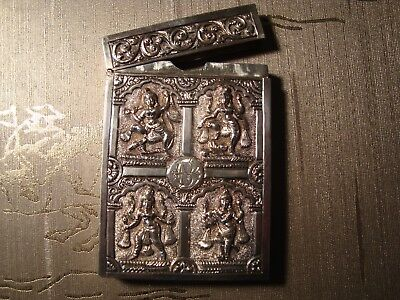 Indian Silver Card Case