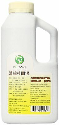 Possmei Concentrated Juice, Longan, 24.67 Ounce
