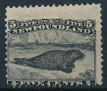 [33235] Newfoundland 1865/73 Good stamp Very Fine MH High Value