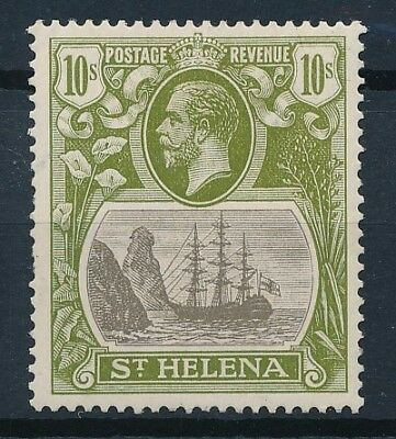 [33614] St Helena 1922 Good stamp Very Fine MH but perf. See photo